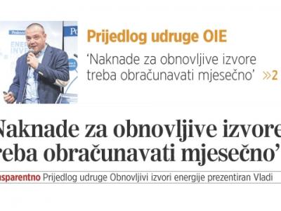 """Aljoša Pleić o modelu """"Transparentno"""" u Poslovnom dnevniku"""