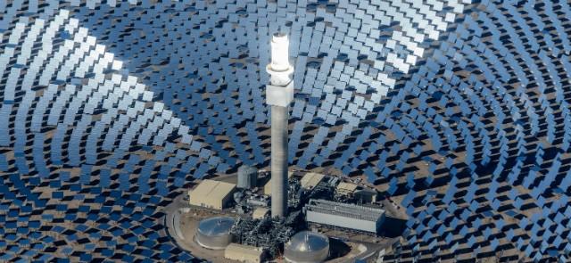 koncentrirajuće solarne elektrane - CSP solarni toranj