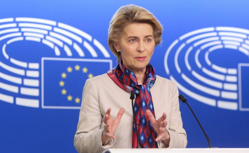 Predsjednica Europske Komisije Ursula von der Leyen/EP