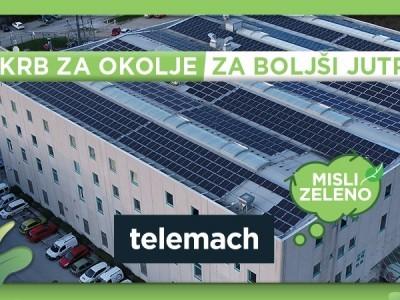 Slovenski Telemach otvorio solarnu  elektranu snage 242 kW