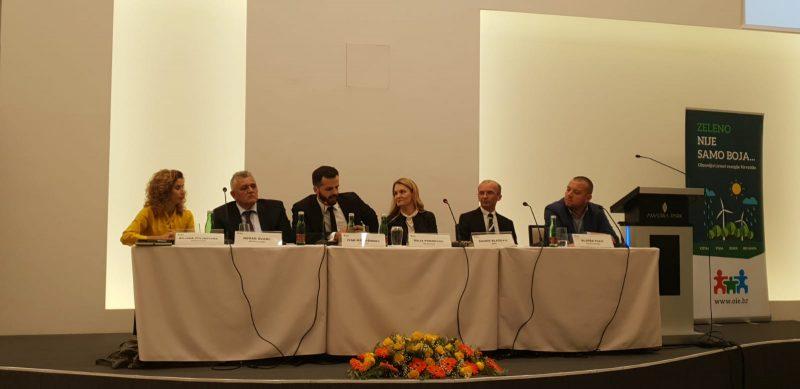 Biljana Stojkovska (National Grid UK), Nenad Švarc (HEP-Proizvodnja), Ivan Komušanac (WindEurope), Maja Pokrovac (OIEH), Danko Blažević (HOPS), Aljoša Pleić (Acciona)