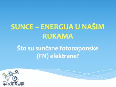 Ban-Kolić održala predavanje o sufinanciranju FN elektrana