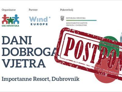 ODGOĐENO ZA 2021. – Konferencija Dani dobroga vjetra prebačena za iduću godinu