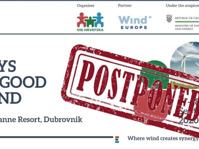 Days of Good Wind Postponed to 2021