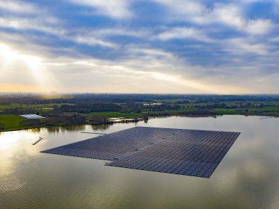 Započela izgradnja najveće europske plutajuće solarne elektrane