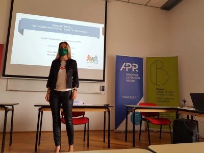 The LARP Educational Programme: Maja Pokrovac Lectured on the Development of the Renewable Energy Source Market
