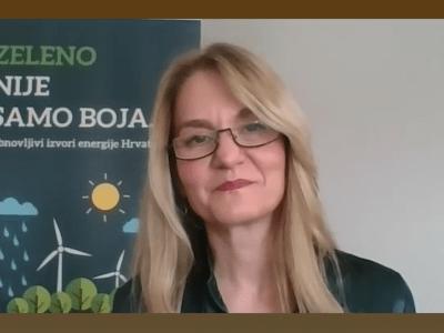 Maja Pokrovac o hrvatskom tržištu obnovljivih izvora energije za slovenski portal Energetika.NET